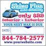 Detailing Reminder Sticker - your next wax is due