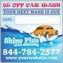 Detailing Reminder Sticker - your next wash is due