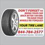 Tire Retorque Reminder Sticker